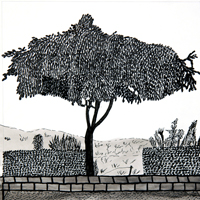 From the series of the Kurdish Life, ink on paper, 23 x 23 cm, 2013